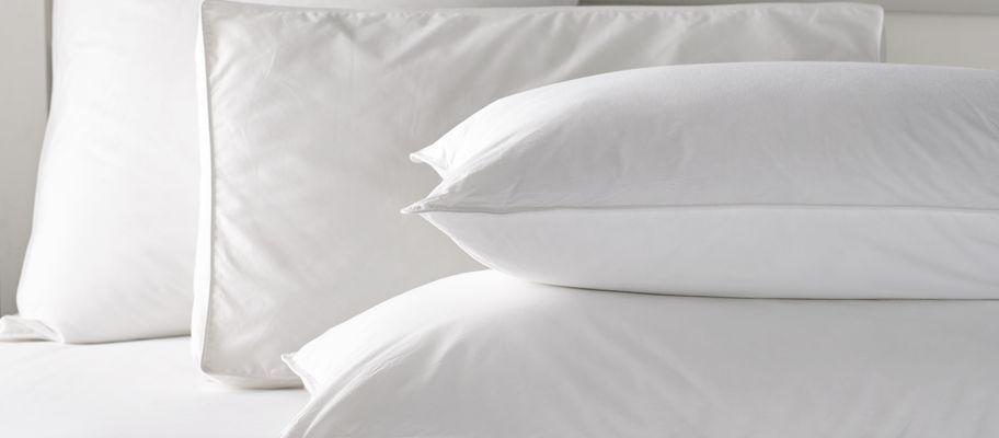 100% cotton microfibre pillow collection