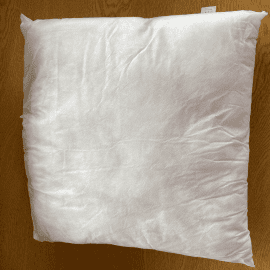 Cushion Inserts: Polypropylene Cover & 100% Polyester Filling (In Single Packs)