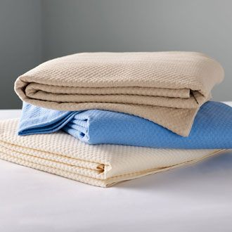 Coloured blankets