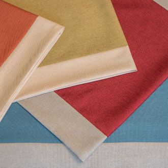 Colourful bed runners