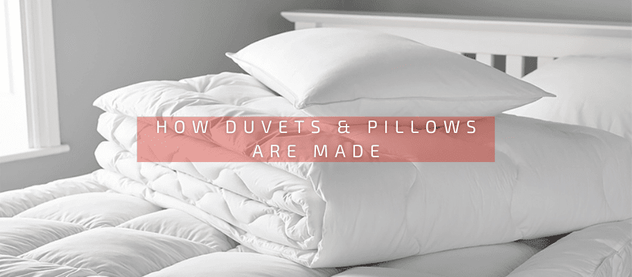 How Duvets & Pillows Are Made